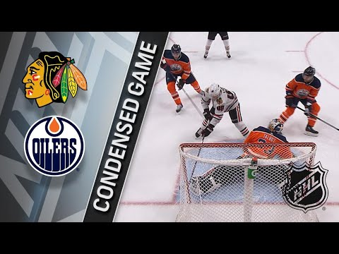 12/29/17 Condensed Game: Blackhawks @ Oilers