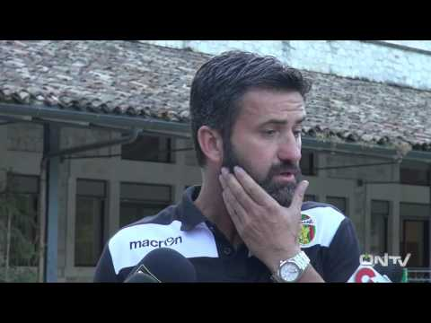 ONTV: Christian Panucci post TERNANA-AMC 98 Roccaporena
