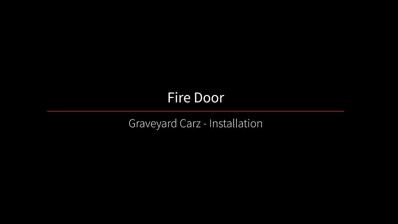 Lovely Graveyard Carz Season 2, Episode 5 Cookson Door Installation Clip   YouTube