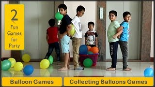 2 Balloon Games | Party games for kids and adults | Icebreakers and team building [2019]