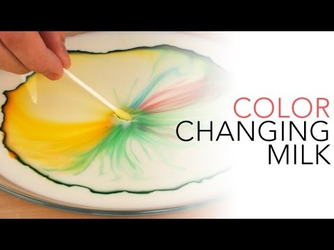 Color Changing Milk | Science Experiments | Steve Spangler Science