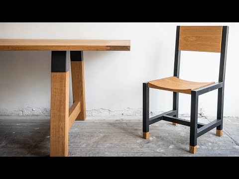 EPIC Wood & Metal Dining Table & Chairs Build