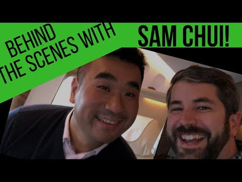 Interview with SAM CHUI, the most followed aviation blogger