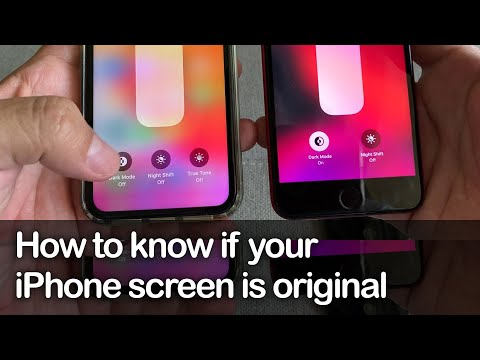 How To Know If Your IPhone Screen Is Original - Apple Trade In Program - True Tone Display