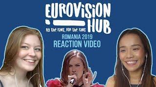 Romania Eurovision 2019 Reaction Video Ester Peony - On A Sunday