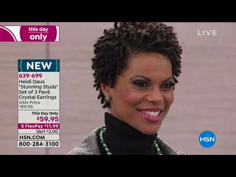 HSN | Heidi Daus Jewelry Designs Gifts 11.08.2018 - 11 PM