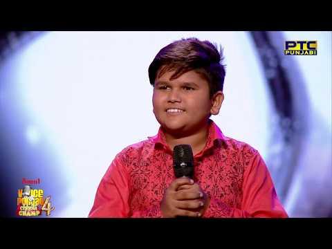 Haricharanpreet | Saun Di Jhadi | Babbu Maan | Semifinal 01 | Voice Of Punjab Chhota Champ 4