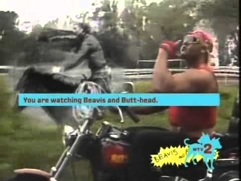 Beavis Butthead Watch Rick Derringer Hulk Hogan - Real American