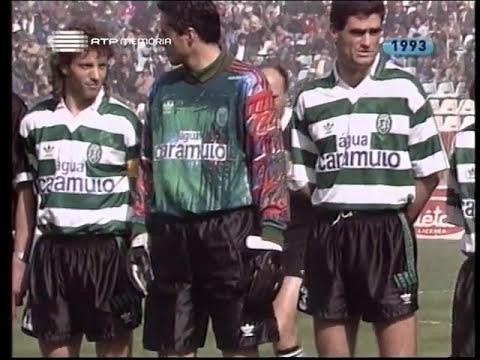 24J :: Sporting - 0 x Gil Vicente - 0 de 1992/1993