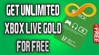 GET FREE UNLIMITED XBOX LIVE GOLD -