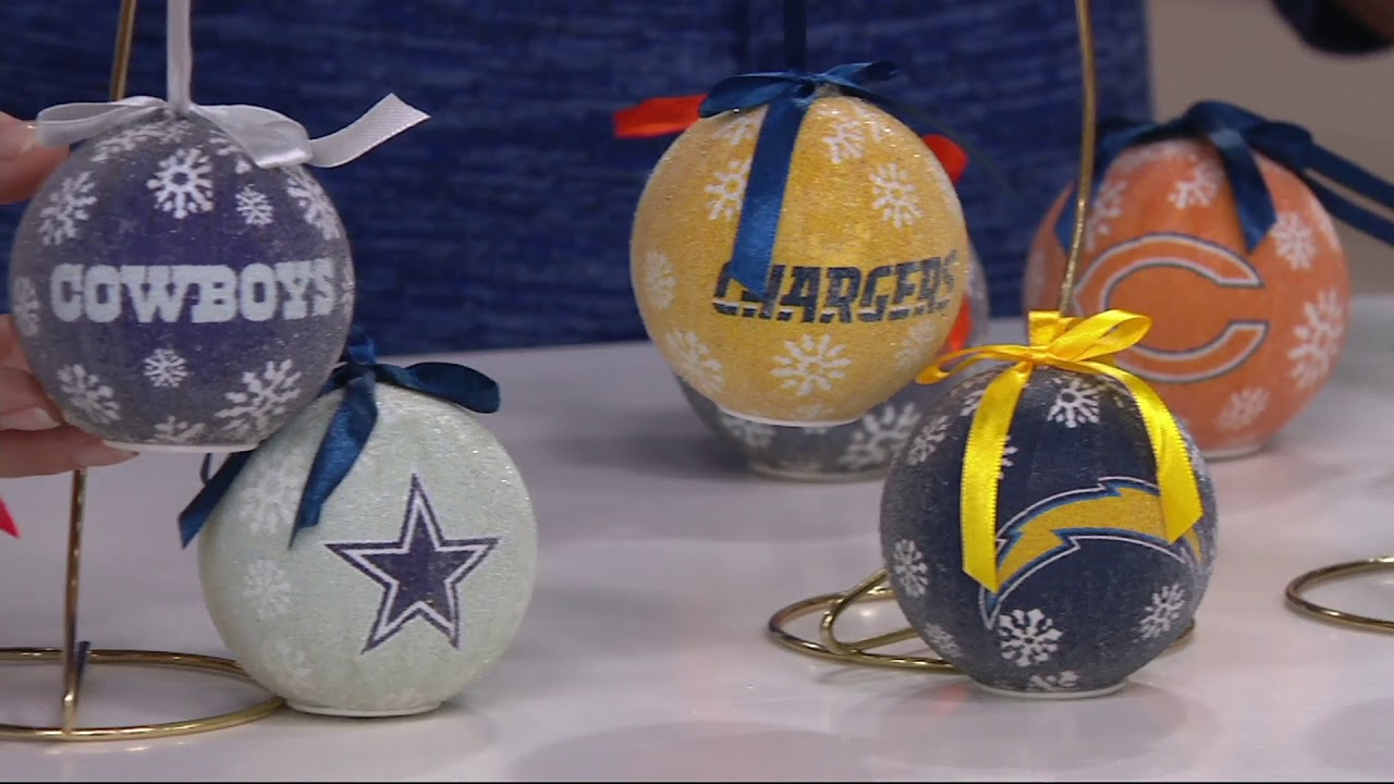 Nfl s6 light up ball ornaments with timer and gift boxes on qvc nfl s6 light up ball ornaments with timer and gift boxes on qvc negle Choice Image