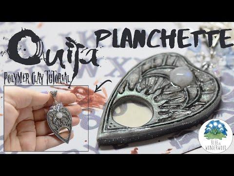 Silvery mermaid planchette