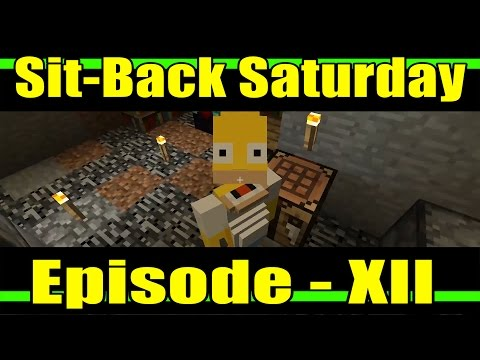 Sit-Back Saturday :: Minecraft: Xbox One Edition Experience :: Episode 12 - Enchanting