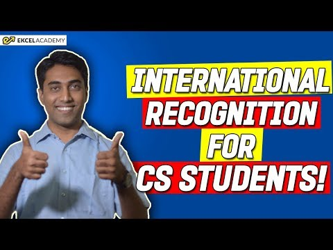 ICSI News: International Recognition for CS Students !