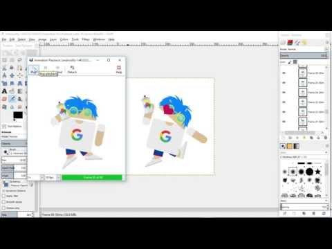 GIMP Resize Animated GIF