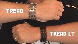 Leatherman Tread and Tread LT Comparison