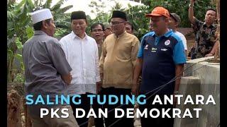 Saling Tuding antara PKS dan Demokrat