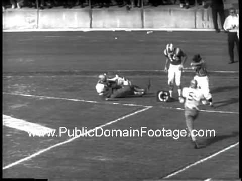 Ernie Davis Heisman Trophy Winner 1961 Newsreel PublicDomainFootage.com