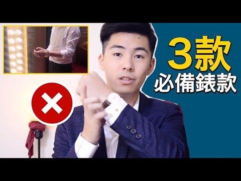 5個步驟原則|教你挑選適合自己的手錶