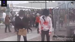 Джефф убийца - танцует как  пьяный!))))