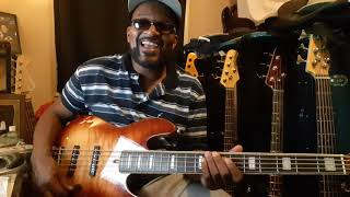 """Sire """"MARCUS MILLER """" V9 BASS DEMO"""