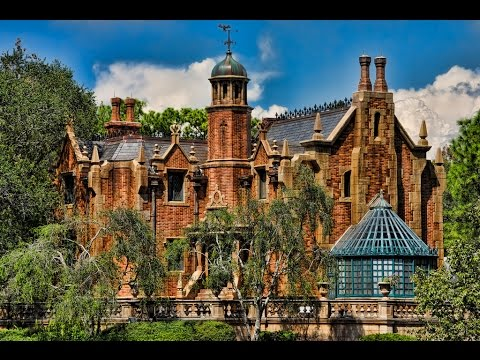 The Haunted Mansion Ride Pov Magic Kingdom Disney World