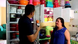 Coleção de Tupperware da dona Lena de Peixoto de Azevedo thumbnail