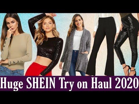 huge-shein-try-on-haul-2020-|-dresses-|-crop-top-|-pants-|-blouse-|-jacket
