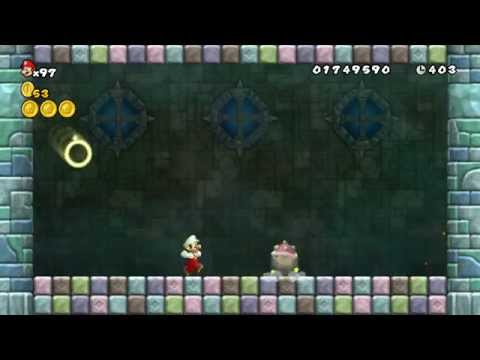 Super mario bros 2 world 4 castle star coins : Dar