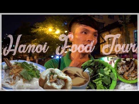 Vietnam Travel Vlog | Food Tour in Hanoi |