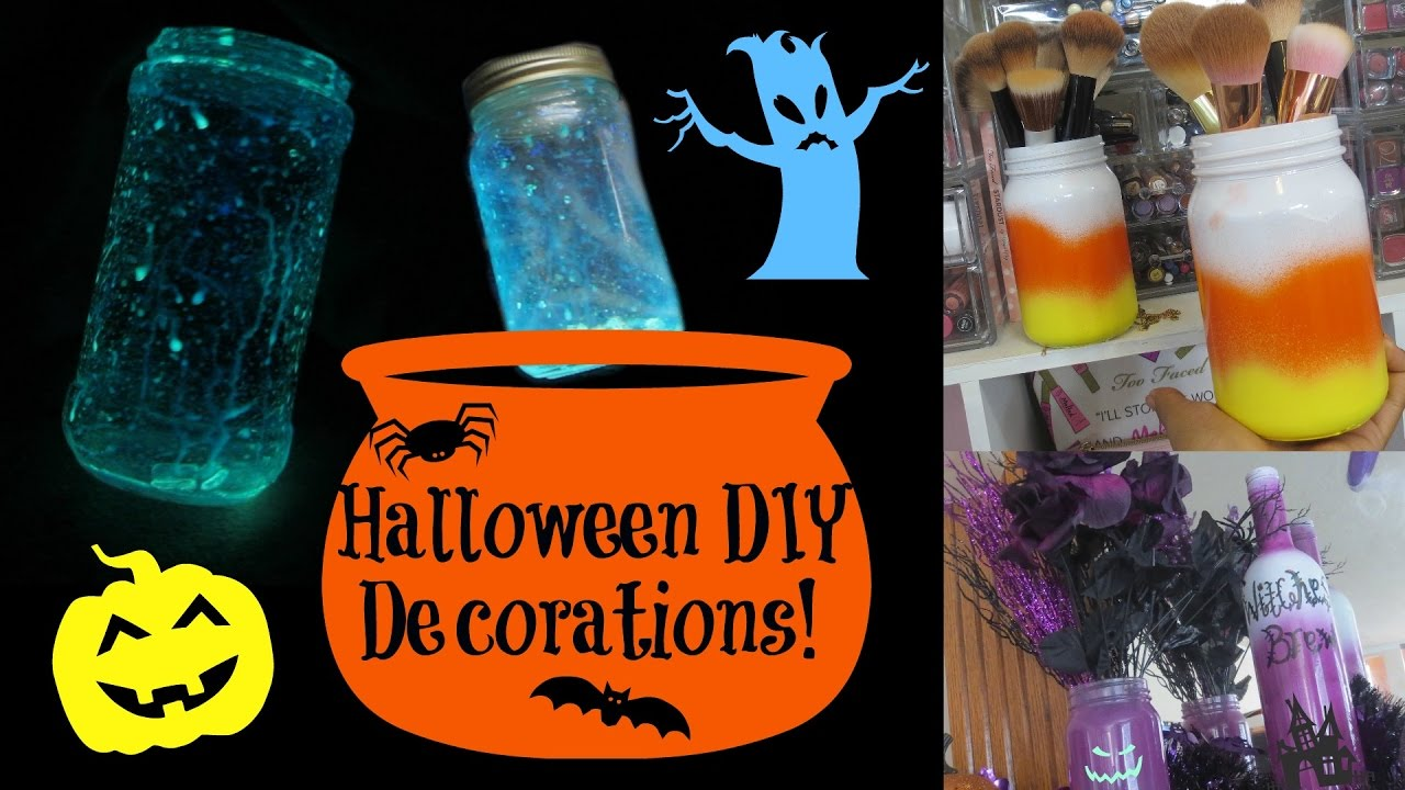 easy halloween diy decorations youtube