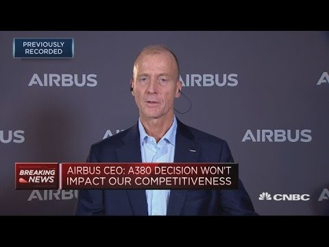 Ending A380 production a 'painful' decision, had to be made, Airbus CEO says | Street Signs Europe Mp3