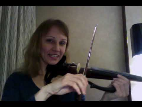 Как правильно брать смычок скрипки