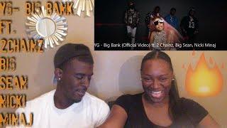 YG - Big Bank (Official Video) ft. 2 Chainz, Big Sean, Nicki Minaj - REACTION