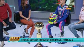 Keanon Santoso Siap Harumkan Indonesia di Formula 4