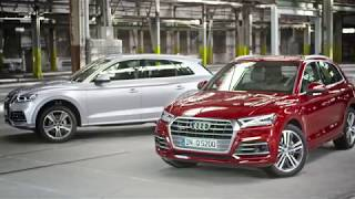 World Premiere Of The All-new 2018 Audi Q5.