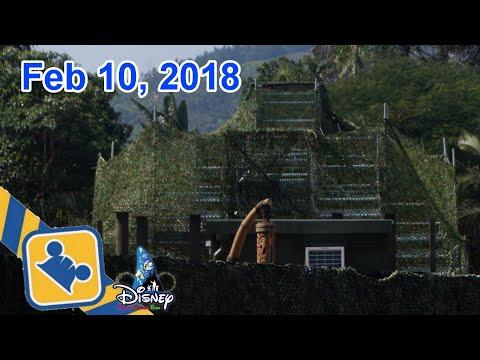 Construction Update:NEW Adventureland Show Place | Hong Kong Disneyland (Feb 10, 2018)