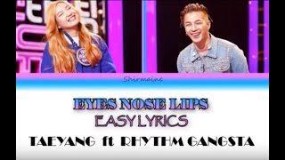 Eyes Nose Lips (Easy Lyrics - Color Coded) Fantastic Duo