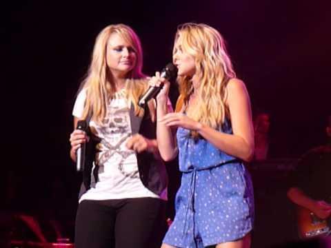 Laura Bell Bundy & Miranda Lambert ~ Rolling On The River ~ Nashville, TN ~ 6-10