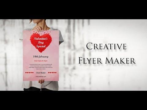 poster maker flyer creator banner art ad maker youtube