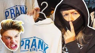 STEALING MORGZ BRAND NEW MERCH PRANK!! **FREAKOUT**