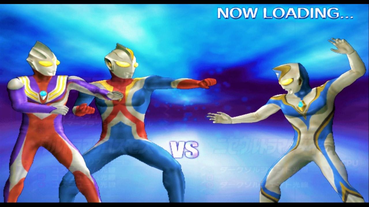 Sieu Nhan Game Play | Ultraman Tiga Và Ultraman cosmos Cặp đôi hoàn cảnh | Game Ultraman Fe3