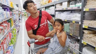 Покупки еды в Корее/ Почему я не экономлю деньги?