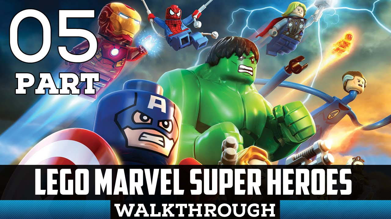 LEGO Marvel Super Heroes - Guide and Walkthrough - Xbox ...