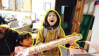 شريت لها أكبر شوكولاتة في العالم !! شوفوا ردة فعلها