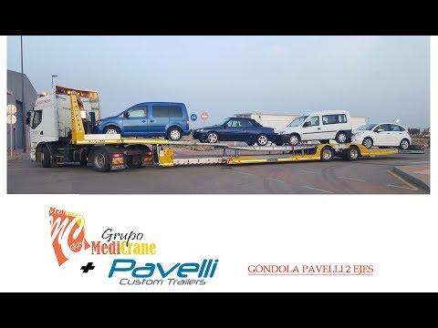 Góndola Pavelli 2 ejes - Grupo Medicrane/Pavelli