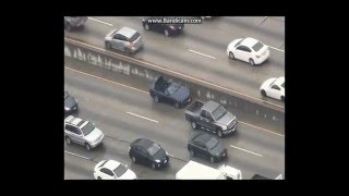 04/07/2016 Los Angeles Area Police Chase LAPD 2016 - 2 Burglary Suspects