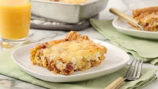 Breakfast Casserole with Bacon- Martha Stewart