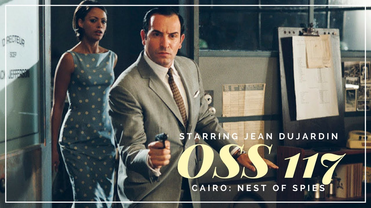 Oss 117 Cairo Nest Of Spies Movie Trailer Youtube