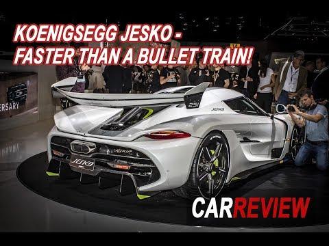 Koenigsegg Jesko - Faster Than A Bullet Train | Car Review 247